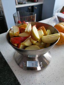 900g Prepped Apples